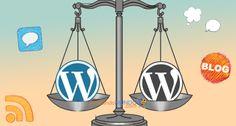 Diferencias entre #blog wordpress com org #comunicacion #socialmedia #bloguero