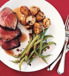 This is a fantastic beef tenderloin recipe!  It's a no fail.  Make sure you make the homemade beef stock.  It's worth it!
