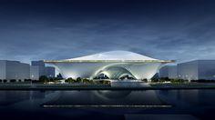 MAD architects, National Art Museum, China