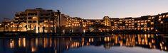 Steigenberger Al Dau Beach Hotel, Hurghada, Egypt - Hotel by night