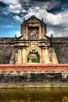 Fort Santiago: Where our national hero, Jose Rizal, was incarcerated many, many years ago...