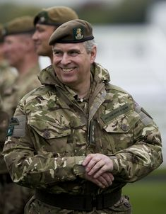 prince andrew, duke of york | Prince Andrew Prince Andrew, Duke of York, presents Operational ...