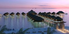 WOW! These gorgeous overwater bungalows (the first in Mexico) are opening at El…