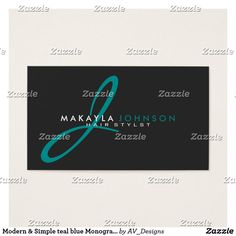 Yoga instructor rose gold tree elegant linen business card modern simple teal blue monogram professional reheart Image collections