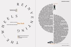 Mouvement par la forme : surface et contour. - typography book layout - Google Search