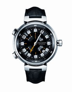 Louis Vuitton Tambour Spin Time Automatic GMT