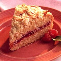 Raspberry Crumble Coffee Cake