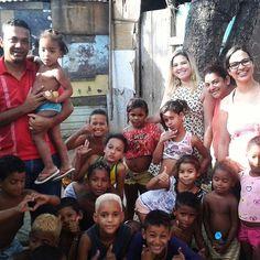 Crianças da comunidade Quilombo dos Palmares em Olinda.  #missões #crianças #olinda