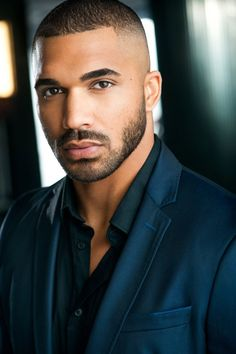Crystal Fox and Tyler Lepley in The Haves and the Have Nots Hot Black Guys, Fine Black Men, Gorgeous Black Men, Beautiful Men Faces, Handsome Black Men, Hot Guys, Black Women, Tyler Lepley, Black Men Haircuts