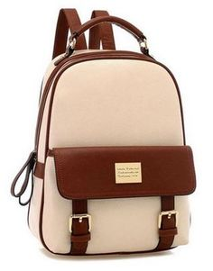 Jack Wills Backpack In Houndstooth Check with Leather Trim ...