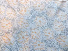 Vintage 1980 s Cotton Fabric  Bloomsbury  Laura Ashley