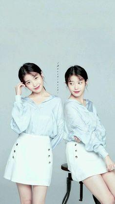 Iu Short Hair, Korean Celebrities, Celebs, Beautiful Asian Girls, Beautiful Women, Blackpink Fashion, Korean Actresses, Skirt Outfits, Korean Singer