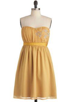Mango with Me Dress