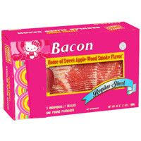 Everything is better with bacon, including Hello Kitty!