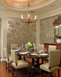 Beautiful Interior Design Ideas For A Glamorous Dining Room
