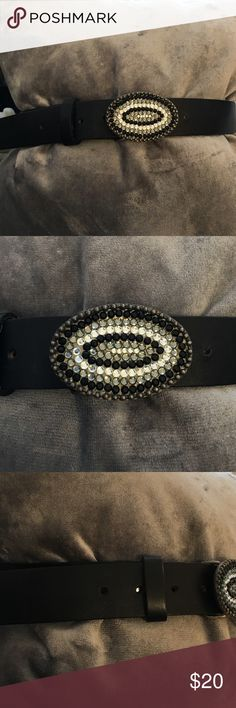 """CCO Sale 🎉 Brighton BELT! Excellent, like new condition - only signs of wear are on the holes where I had to improvise and create one so it fit - worn one time, see pics - genuine leather! - measures 42"""" I am like 99% sure it's Brighton or because that's all my mother in law buys and it was hers but I don't see any markings Brighton Accessories Belts"""