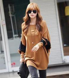 European Autumn Fashion Long Sleeve Loose T-Shirt