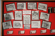 tudor classroom displays - Google Search Primary Teaching, Teaching Tools, Uk History, Tudor House, Classroom Displays, Educational Activities, The Past, Gallery Wall, Shakespeare