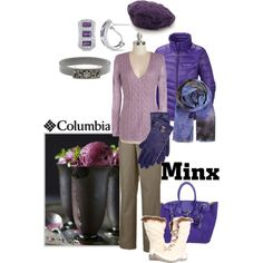 """Pretty in purple"" by maria-kuroshchepova on Polyvore"