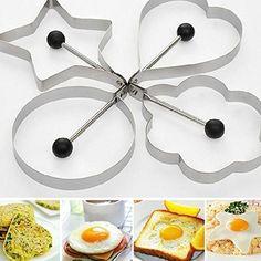 Vktech® Kitchen Stainless Steel Pancake Mould  - £19.98