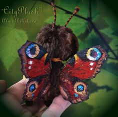 Aglaya the butterfly By Alina Biliakova - Bear Pile