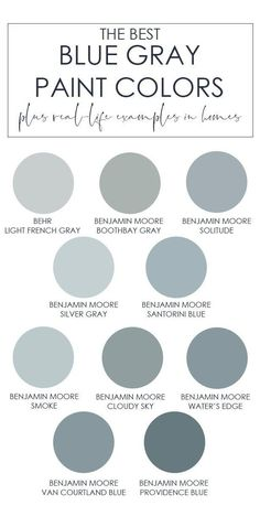 The Best Blue Gray Paint Colors &; Life On Virginia Street The Best Blue Gray Paint Colors &; Life On Virginia Street Zoey Black zoeyblack Sanierung A collection of the best […] for home living room color trends Grey Interior Design, Interior House Colors, Interior Paint, Interior Decorating, Decorating Ideas, Blue Gray Paint Colors, Paint Colors For Home, Neutral Paint, Paint Colours