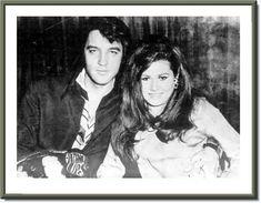 Elvis Presley and Jeannie C. Riley [Harper Valley PTA]. August 1969.