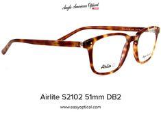 Airlite S2102 51mm DB2 Sunglasses, American, Shades, Eyewear