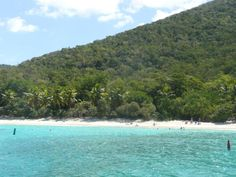 Take a day sail from the resort and anchor off St John for lunch