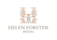 Helen Forster Bridal logo design #weddingdressboutique #logodesign #brandidentity