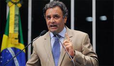 """""""PT falhou 10 vezes"""", ataca Aécio Neves Presidenciável do PSDB critica o tom eleitoreiro da visita da presidente Dilma Rousseff e de Lula em Minas e lista a omissão dos três governos petistas em relação ao estado"""