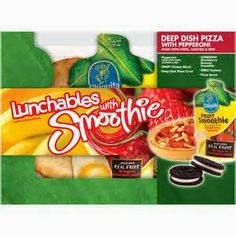 New #Coupon ~ Save $1.00/1 Lunchables with Smoothie