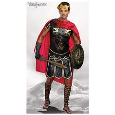 Men's Julius Caesar Costume ($36) ❤ liked on Polyvore featuring men's fashion, men's clothing and men's costumes