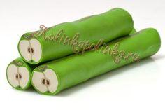 canne pomme verte en polymère