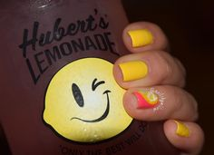 here's another picture of my Lemon nails with my delicious watermelon lemonade from @hubertslemonade ! #nail #nails #polish #nailpolish #nailsofinstagram  #naildesign #nailartdesign #nailstagram #nailartjunkie #notd #nailaddict #nailartcentral #nailartlover #mynails #nails2inspire #instanails #nailpromote #nailsgram #nailartoftheday #trendypolish #nailartoohlala #nailartcentral #adornnails #looknbn #polishplanet #mydrinkandmynails #hubertslemonade by nailsbyalliew