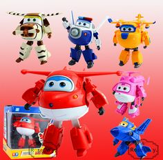 >>>This DealsBig Size 12CM Super Wings Toys Deformation Planes Transformation robot Action