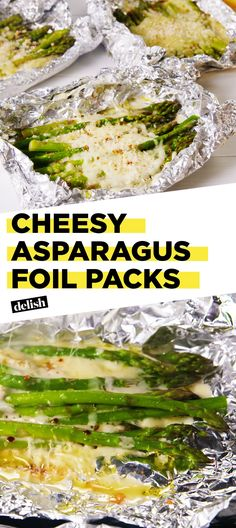Introducing Your New Favorite Side: Cheesy Asparagus Foil Packs! - Healthy Eating Tips