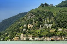 Bella Italia in Helvetia, Ufer des Lago di Lugano