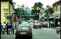 Värmland Eda kommun Charlottenberg Storgatan 1980-talet