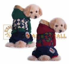 Pets Winter Thick Clothes with Four-legged Pants http://esmarties-mall.com/index.php?dispatch=products.view&product_id=521