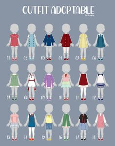 Club Outfits, Girl Outfits, Casual Outfits, Fashion Design Drawings, Fashion Sketches, Drawing Anime Clothes, Clothing Sketches, Japanese Outfits, Character Outfits