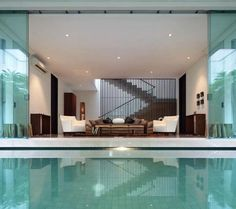 How about a swim!? Beautiful design and organization!