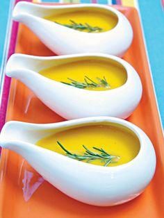 Sopa de mandioquinha: 165 calorias