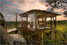 Enchanting African Treehouse Havens - This Game Reserve Lodge in South Africa is Whimsical and Sweet (GALLERY)