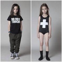 Nununu SS15 modern minimal children's clothing.