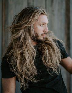 Lang männer wachsen haare Lange Haare