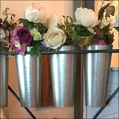 Whether for fresh flowers or dried decorations, this Rustique Bouquet Presentation Rack stands ready to serve retail needs. Quiver, Visual Merchandising, Fresh Flowers, Presentation, Bouquet, Retail, Display, Plants, Decor