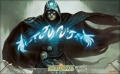 Magic The Gathering / Planeswalker Jace Beleren, the Mind Sculptor by Jason Chan  / 2560x1600 Wallpaper