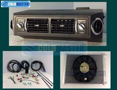 A/C KIT UNIVERSAL UNDER DASH EVAPORATOR AIR CONDITIONER 432-1 12V- NO COMPRESSOR #coldmaster