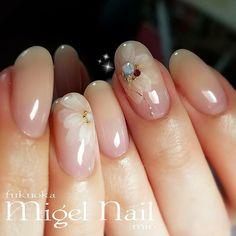 simple and lovely pink nails 29 Related Elegant Nails, Classy Nails, Trendy Nails, Cute Nails, Fall Nail Art Designs, Acrylic Nail Designs, Gem Nails, Pink Nails, Bride Nails